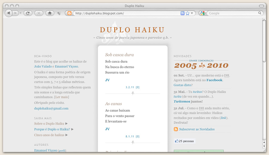 Website Duplo Haiku